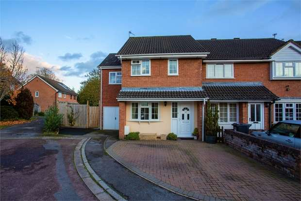 4 Bedrooms End Of Terrace House for sale in The Glebe, Wrington, Bristol, Somerset