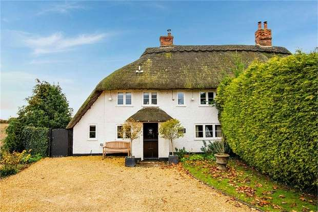 3 Bedrooms Semi Detached House for sale in Hill Green, Leckhampstead, Newbury, Berkshire
