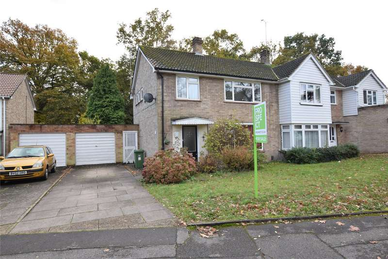 3 Bedrooms Semi Detached House for sale in Firlands, Harmans Water, Bracknell, Berkshire, RG12
