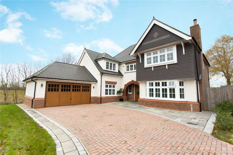 5 Bedrooms Detached House for sale in Hurst Green Gardens, Culcheth, Warrington, Cheshire, WA3
