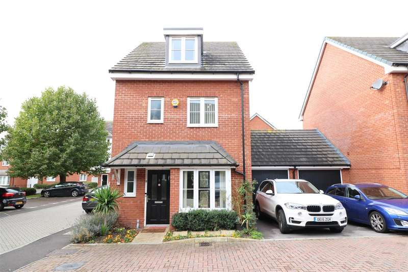 4 Bedrooms Detached House for sale in Holymead, Calcot, Reading