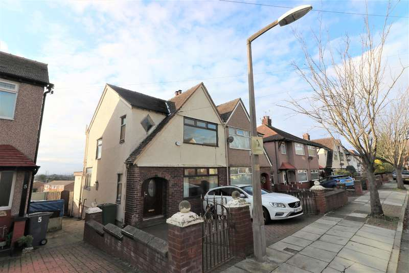 3 Bedrooms Semi Detached House for sale in Bletchley Avenue, Wallasey, CH44 2EH