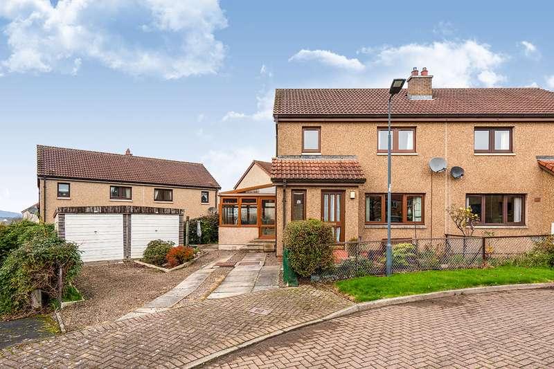 3 Bedrooms Semi Detached House for sale in Dundas Gardens, Gorebridge, Midlothian, EH23