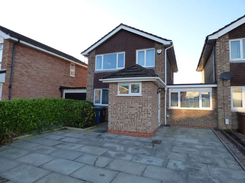 3 Bedrooms Link Detached House for sale in Poise Brook Drive, Offerton, Stockport, SK2