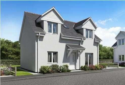 3 Bedrooms Detached House for sale in Herb Garden, Pentre Berw