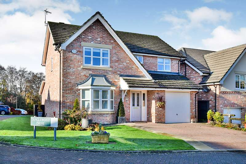 4 Bedrooms Detached House for sale in Tanglewood Drive, Tytherington, Macclesfield, Cheshire, SK10