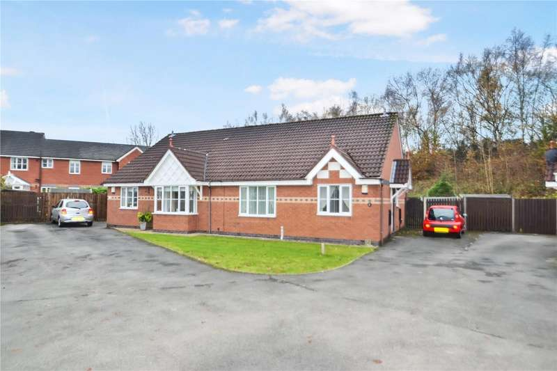 2 Bedrooms Semi Detached Bungalow for sale in Blackley Close, LATCHFORD,, Warrington, WA4