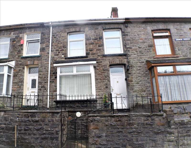 3 Bedrooms Terraced House for sale in Ardwyn Terrace, Pentre