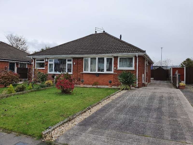 2 Bedrooms Semi Detached Bungalow for sale in Scott Close, Blackpool, FY4 4YA