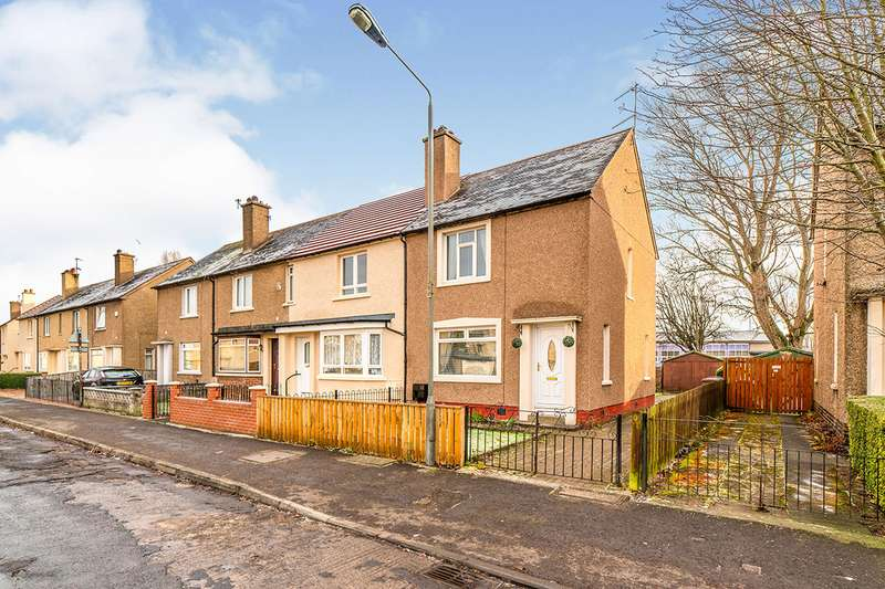 2 Bedrooms End Of Terrace House for sale in Montgomery Street, Grangemouth, Stirlingshire, FK3