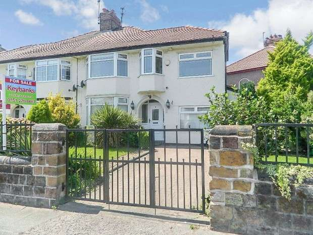 4 Bedrooms Semi Detached House for sale in Almonds Grove, West Derby, L12