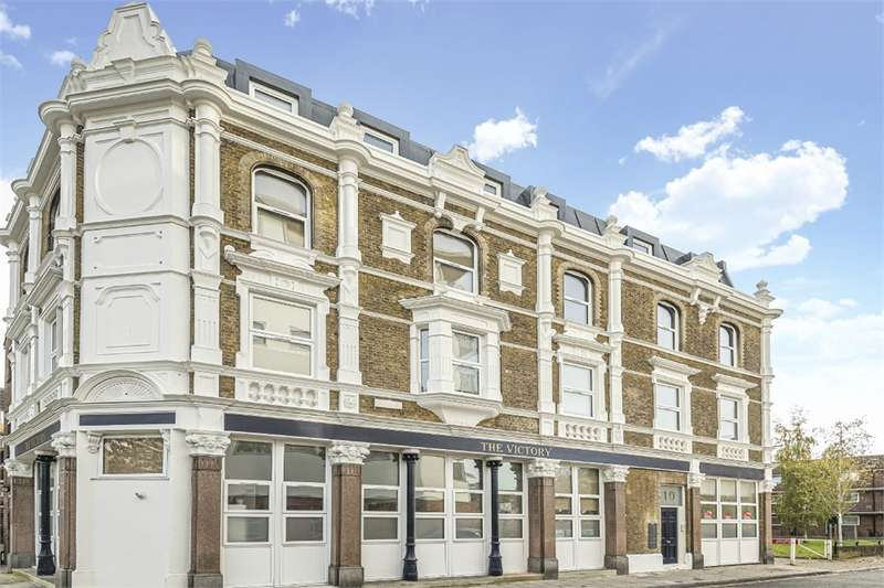 2 Bedrooms Flat for sale in The Victory, 10 Catesby Street, London, England