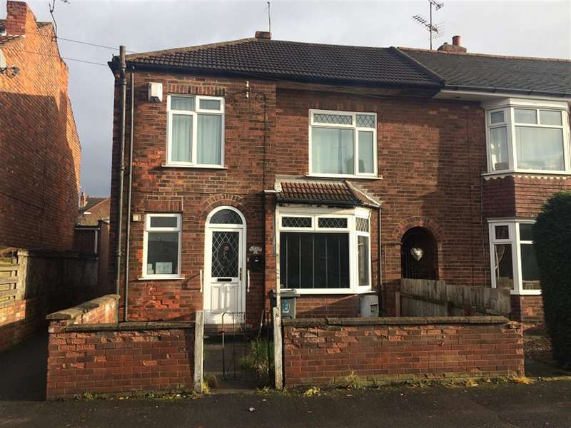 3 Bedrooms Semi Detached House for sale in Edward Road, Gainsborough, DN21 2QR