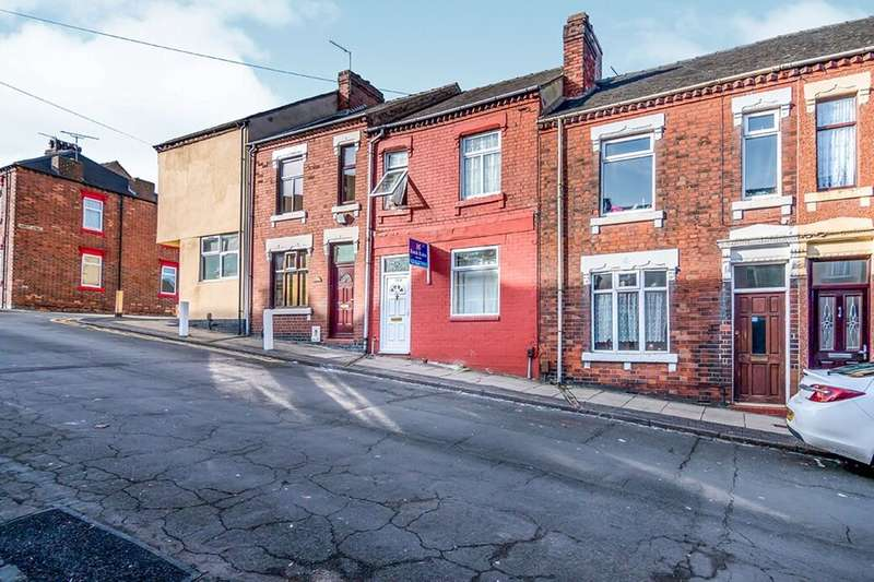 2 Bedrooms Terraced House for sale in Moston Street, Stoke-On-Trent, ST1