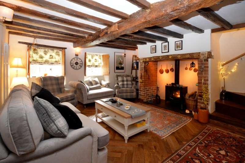 3 Bedrooms End Of Terrace House for sale in Higher Street, Merriott, Somerset, TA16