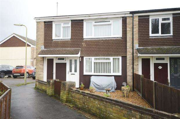 3 Bedrooms End Of Terrace House for sale in Andover Way, Aldershot, Hampshire