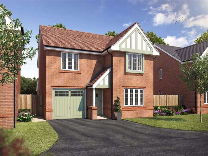 4 Bedrooms Detached House for sale in Silk Rose Place, Macclesfield