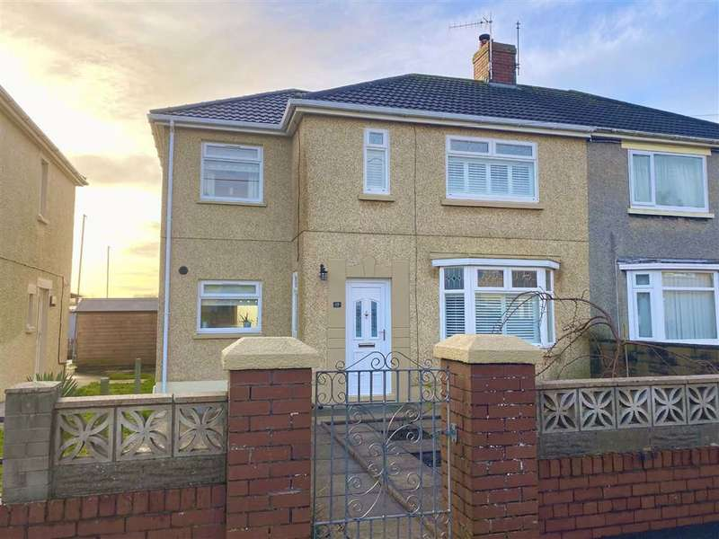 3 Bedrooms Semi Detached House for sale in Burrows Terrace, Burry Port