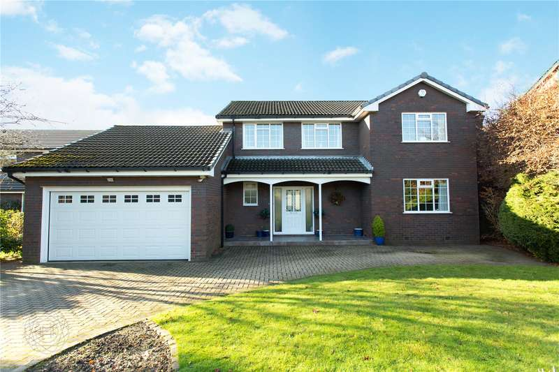 4 Bedrooms Detached House for sale in Briksdal Way, Lostock, Bolton, BL6