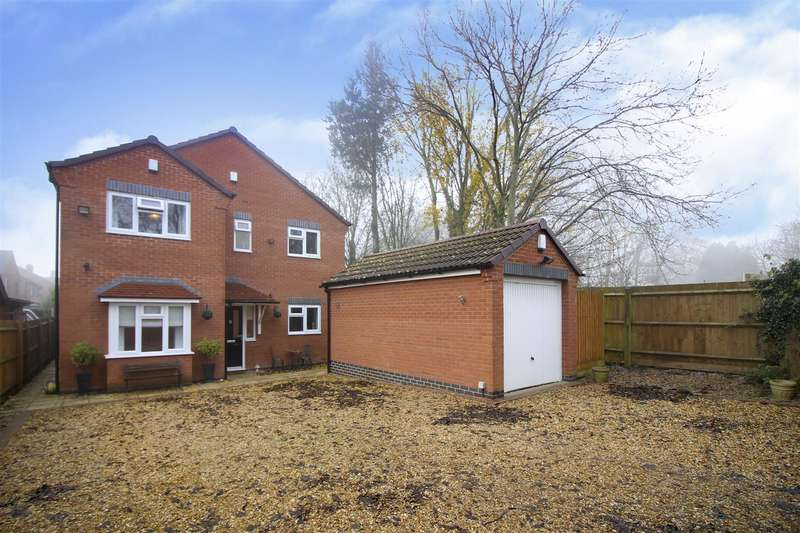 4 Bedrooms Detached House for sale in Church Drive, Sandiacre, Nottingham