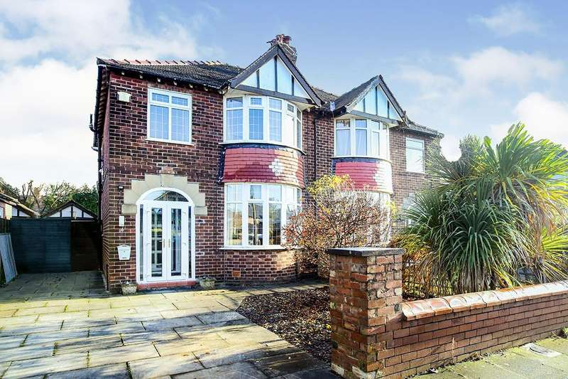3 Bedrooms Semi Detached House for sale in Dingle Grove, Gatley, Cheadle, Greater Manchester, SK8