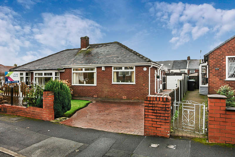 2 Bedrooms Semi Detached Bungalow for sale in Oakbank Avenue, Chadderton