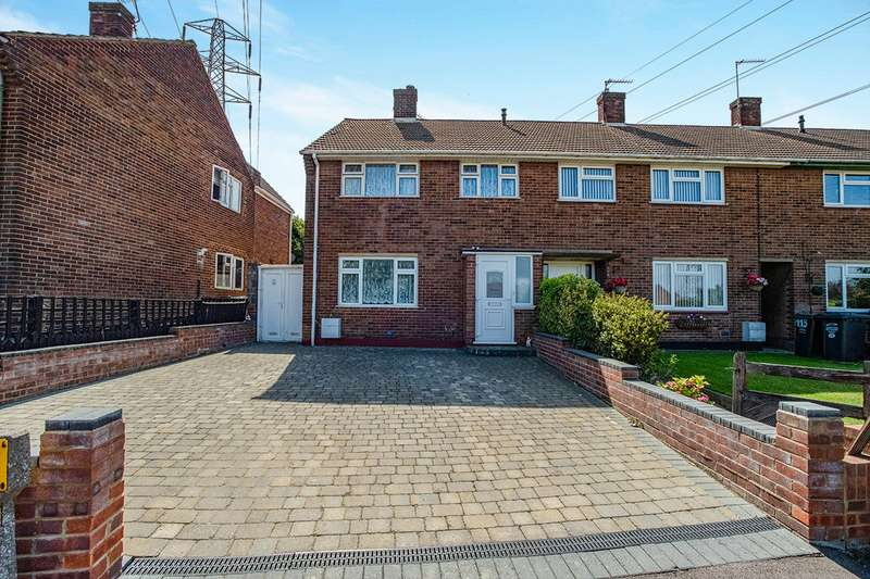 3 Bedrooms Semi Detached House for sale in Morgan Drive, Greenhithe, Kent, DA9