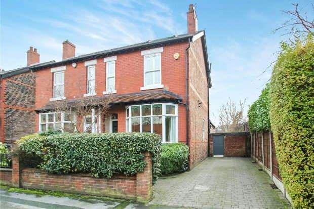 4 Bedrooms Semi Detached House for sale in Woodcote Road, West Timperley