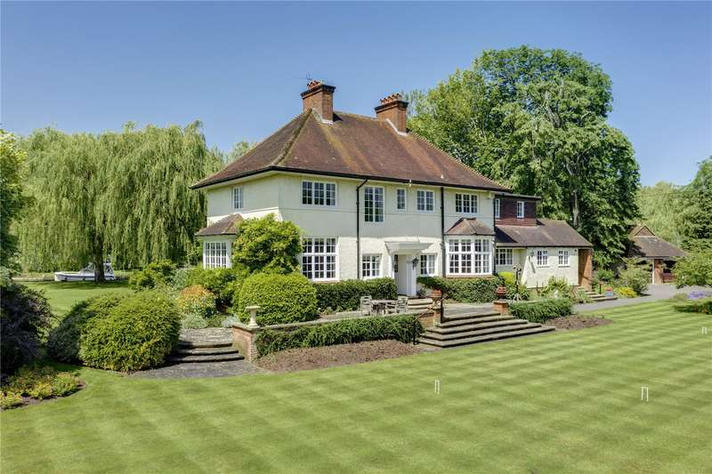 6 Bedrooms Detached House for sale in Loddon Drive, Wargrave, Reading, Berkshire, RG10