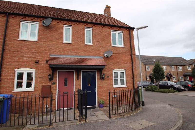 2 Bedrooms End Of Terrace House for sale in Jessops Court, Kirton, Boston