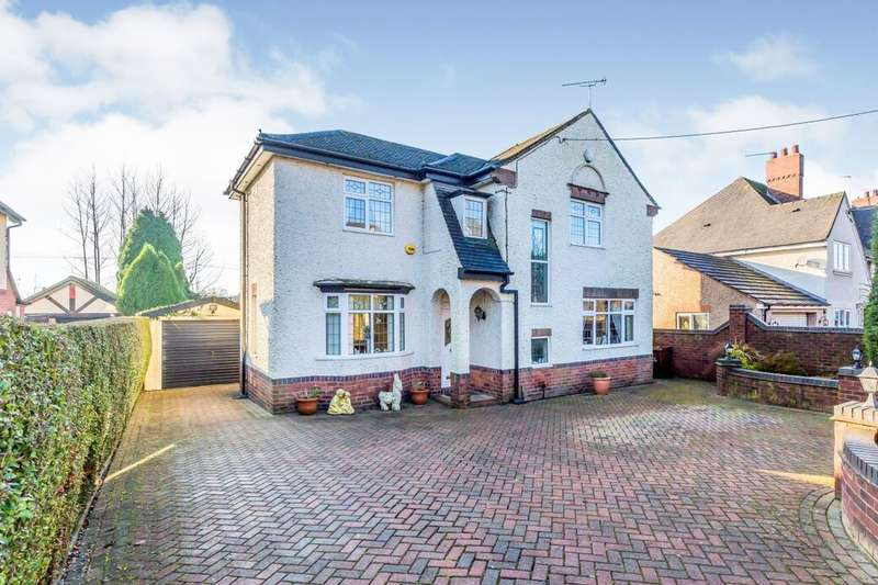 3 Bedrooms Detached House for sale in Uttoxeter Road, Blythe Bridge, Stoke-On-Trent, ST11