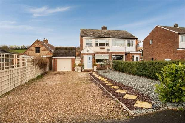 3 Bedrooms Semi Detached House for sale in Woldgate, North Newbald, York
