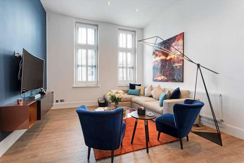 3 Bedrooms Flat for sale in Bolsover Street, London, W1W 5NQ
