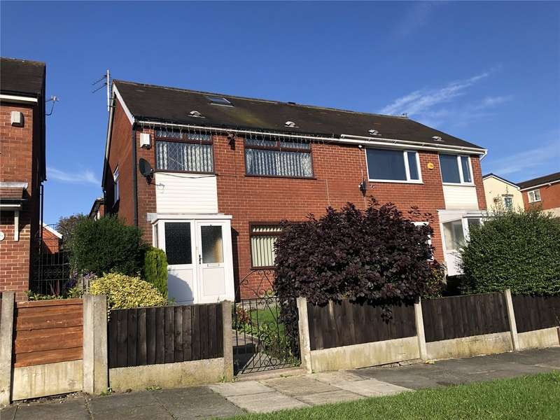 3 Bedrooms Semi Detached House for sale in Wren Close, Farnworth, Bolton, Greater Manchester, BL4
