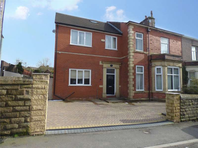 6 Bedrooms Semi Detached House for sale in Ripponden Road, Moorside, Oldham, Greater Manchester, OL4
