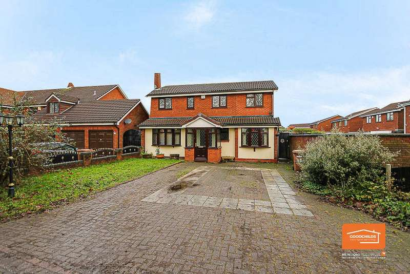 5 Bedrooms Detached House for sale in Meadow Grange Drive, Willenhall, WV12 5YT