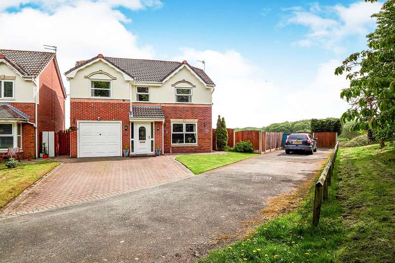 4 Bedrooms Detached House for sale in Chestnut Fold, Radcliffe, Manchester, M26