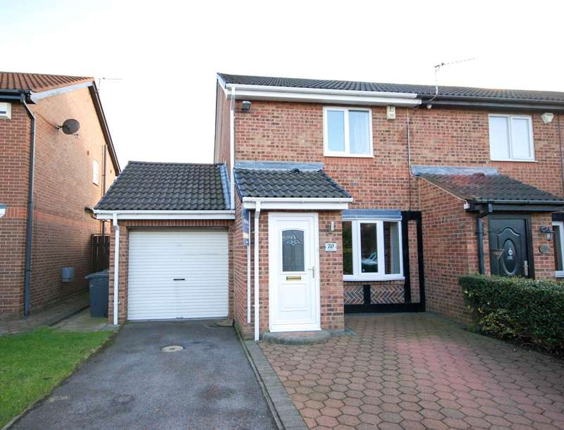 2 Bedrooms Semi Detached House for sale in Romsey Drive, Boldon Colliery