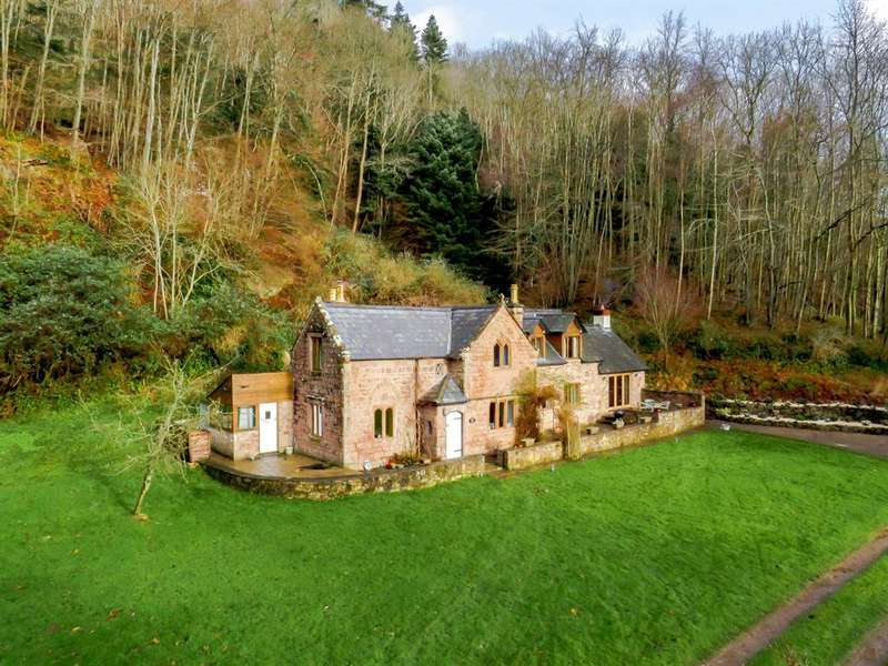 4 Bedrooms Detached House for sale in Ganarew, Monmouth, Herefordshire, NP25 3SR