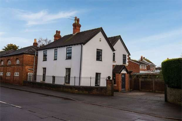 4 Bedrooms Detached House for sale in Park Street, Shifnal, Shropshire