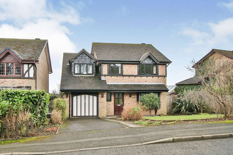 4 Bedrooms Detached House for sale in Clockhouse Grove, Burnley, Lancashire, BB10