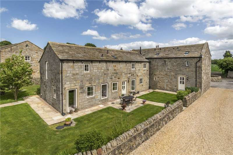 5 Bedrooms Barn Conversion Character Property for sale in Apple Tree Barn, Clifton Lane, Newall With Clifton, Otley