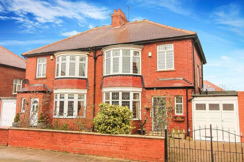 3 Bedrooms Semi Detached House for sale in Queensway, North Shields