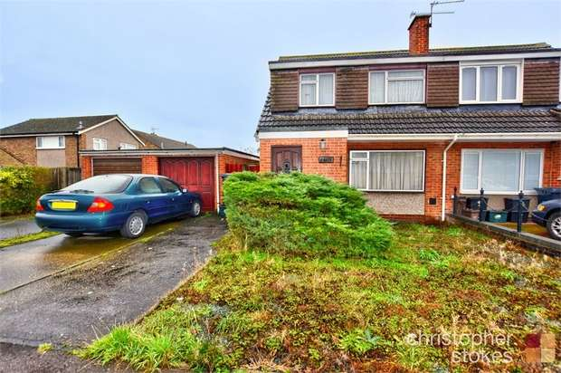 3 Bedrooms Semi Detached House for sale in Perrysfield Road, Cheshunt, Cheshunt, Hertfordshire