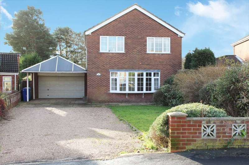 4 Bedrooms Detached House for sale in Elm Drive, Finningley