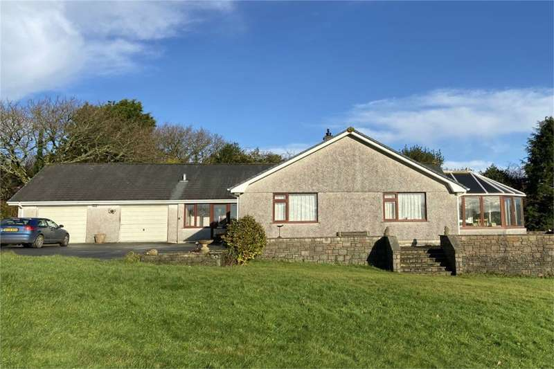 3 Bedrooms Detached Bungalow for sale in Silver Hill, Perranwell Station, TRURO, Cornwall
