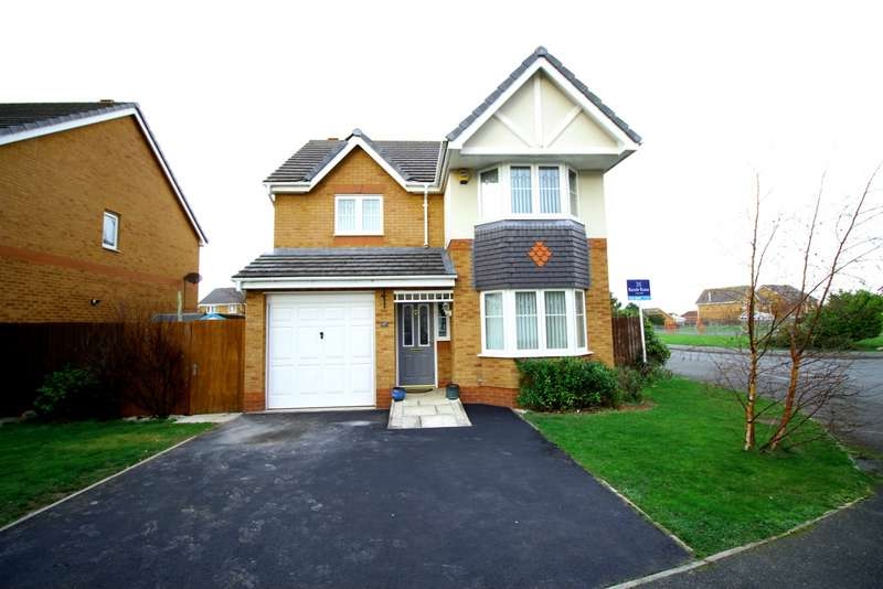 4 Bedrooms Detached House for sale in Lon Glanfor, Abergele, Conwy, LL22