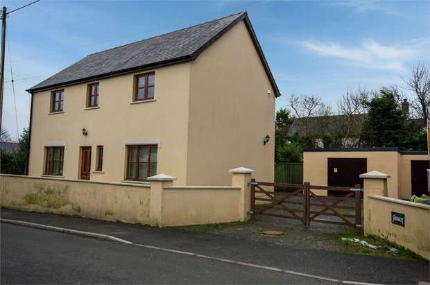 3 Bedrooms Detached House for sale in Hermon, Glogue, Pembrokeshire