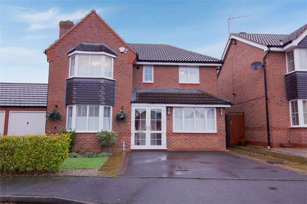 4 Bedrooms Detached House for sale in David Harman Drive, West Bromwich, West Midlands