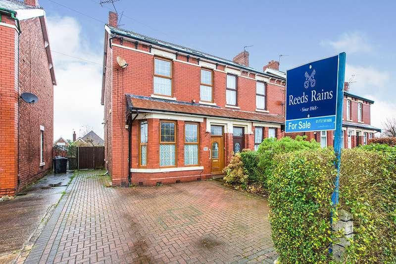 4 Bedrooms Semi Detached House for sale in Blackpool Road, Ashton-on-Ribble, Preston, Lancashire, PR2